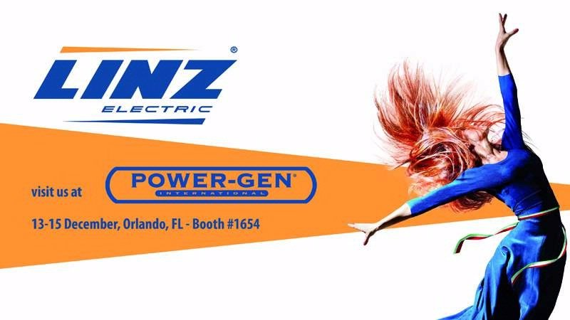POWER-GEN INTERNATIONAL 2016: COME DISCOVER THE NEW LINZ ELECTRIC US SUBSIDIARY