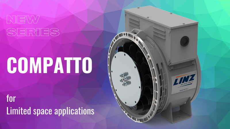 "Why ""COMPATTO"" is the best alternator for use in limited spaces and harsh conditions"