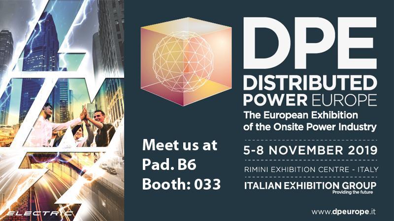Fiera DPE Distibuted Power Europe 2019 - Rimini Italia