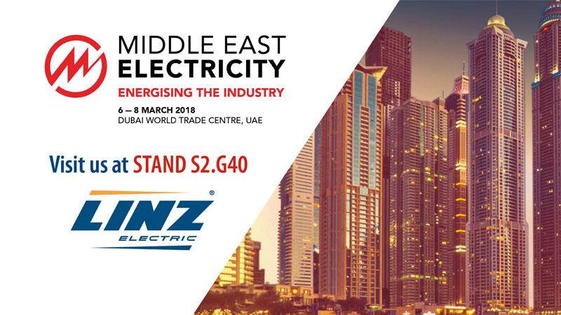 Middle East Electricity 2018 6-8 March Dubai